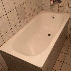 浴缸烤漆修復美容後